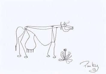 Alexander Calder, Fineliner